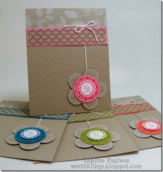 DSCF4211; Circle Circus; Summer Silhouettes; heat embossing; used regal rose; island indigo; lucky limeade and calypso coral