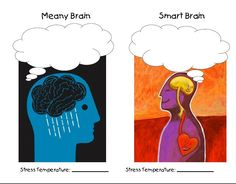 Meany/Smart Brain Brain, Therapy, Stress, Creative, Fictional Characters, The Brain, Healing, Fantasy Characters, Psychological Stress