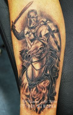 Knights templar tattoo | More art and tattoos here; www.face… | Flickr