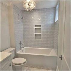 50 Impressive Bathroom Shower Remodel Ideas In any bathroom remodeling, the task. - 50 Impressive Bathroom Shower Remodel Ideas In any bathroom remodeling, the task most often starts - Hall Bathroom, Upstairs Bathrooms, Bathroom Renos, Bathroom Interior, Modern Bathroom, Simple Bathroom, Girl Bathroom Ideas, Small Bathroom Designs, Small Full Bathroom