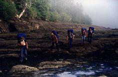 West Coast Trail a rugged hiking trail