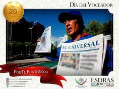 Buen día amigos, hoy en el Día del Voceador felicito a quienes brindan sus servicios a los lectores y a los medios impresos del país. #Madero #Altamira #Aldama ¡Excelente miércoles!