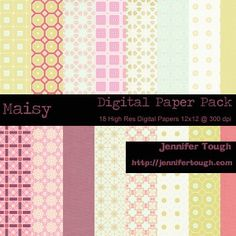 Maisy Digital Paper Pack