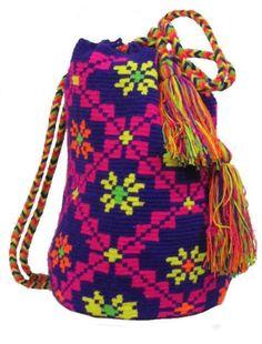 Wayuu backpack by PavanaFit  #boho #vintage #handmade #crochet #wool #hippie #handwoven #wool #wayuu #backpack #accesories