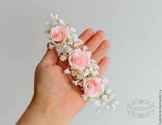 Купить или заказать Цветы для свадебной прически в интернет-магазине на Ярмарке…