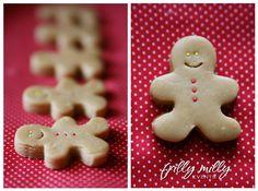 Gingerbread Man Fudge