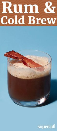 Coffee cocktails do double duty at the brunch table, giving you both a much-needed caffeine jolt and a hair-of-the-dog buzz that makes last night's festivities seem like a distant memory. Frothy egg whites and crispy candied bacon make this drink simply irresistible.