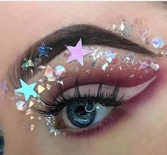 WEBSTA @jazzy_glitter @rubyhuntt using our mylar flaked glitters ✨✨ SO BEAUTIFUL!!