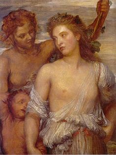 George Frederick Watts: A Bacchante