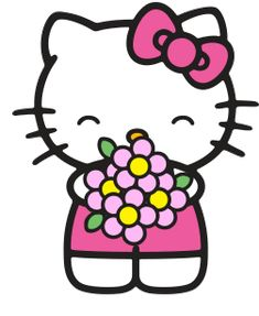 21 best hello kitty clipart images on pinterest hello kitty rh pinterest com hello kitty clipart cheerleader hello kitty clip art images