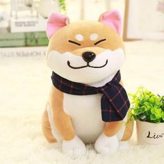 Shiba Inu Plushie (16in) - Free Shipping with Every Order at CuteFTW.com