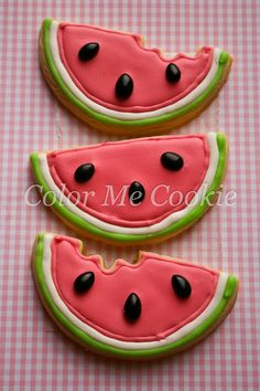 Summer cookies to make with the little ones!