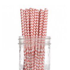 Dress My Cupcake 25-Pack Vintage Paper Straws, Coral Chevron Dress My Cupcake,http://www.amazon.com/dp/B00BN17T8G/ref=cm_sw_r_pi_dp_98T8sb0GK65KMQXP