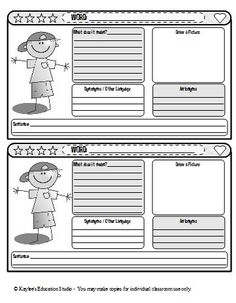 Diary Writing Checklist Differentiated