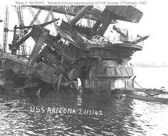 USS Arizona Naval History, Us History, Military History, Pearl Harbor 1941, Pearl Harbor Attack, Uss Arizona, Uss Oklahoma, Remember Pearl Harbor, Us Battleships