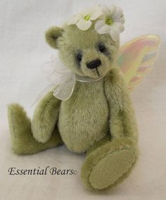 Apple complete sewing kit for a miniature teddy bear