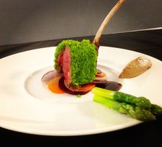 Herbs crust rack of lamb ... - The ChefsTalk Project