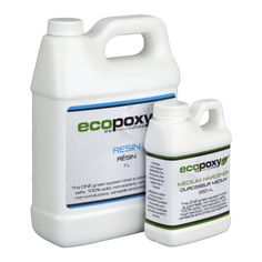 EcoPoxy® draws its strength and resource from the plants of the earth through its component of nuts and beans, it is a revolutionary resin. Carbon emissions from the use of these products are close to zero
