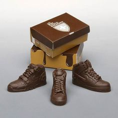 chocolate tennis shoes