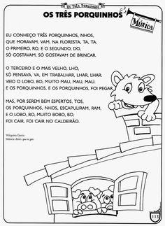 ESPAÇO EDUCAR: Projeto os três porquinhos - Atividades com a história dos três porquinhos para imprimir!