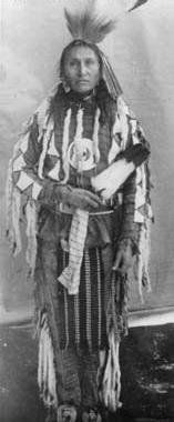 Blackfoot (Northern Peigan) man - 1894