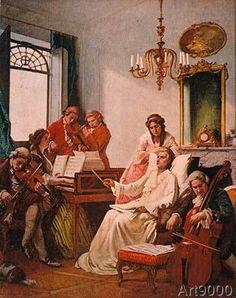 Wolfgang Amadeus Mozart - Mozart's Requiem / Col.Print aft.Bande
