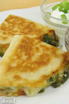 """Jalapeno Popper Quesadillas 
