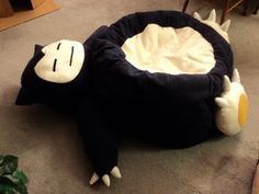Snorlax beanbag =]