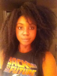 This looks like my hair after my braids come out. I love this look and wish I could keep it...