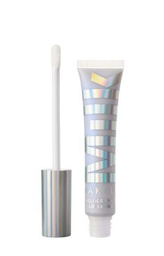 Shop Holographic Lip Gloss at Milk Makeup. An iridescent lip gloss version of our best-selling Holographic Sticks to launch your look into outer space. Eye Makeup Art, Glossy Makeup, Lip Makeup, Beauty Makeup, Makeup Style, Dark Matte Lipstick, Bright Lipstick, Pink Lips, Makeup Guide