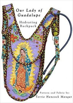 our lady of guadalupe hydration backpack cover