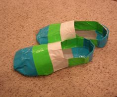 This Instructable will show you how to make duct tape shoes.This is my first instructable so please give me ideas on how to make my next one better:)