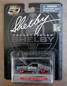 Shelby Collectibles 1:64 Scale Die-Cast: 1965 Shelby GT350R #RAW #ZMAC #CHASE