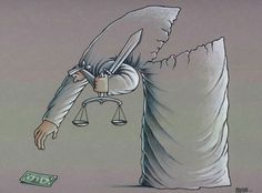 Justice not so blind after all. You are in the right place about Satire people Here we offer you the most beautiful pictures about the Satire drawing you are looking for. When you examine the Justic Satire, Art With Meaning, Deep Meaning, Meaningful Pictures, Satirical Illustrations, Deep Art, Social Art, Political Art, Cartoon Pics