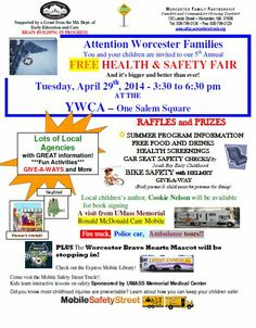 PROGRAMS: Free Health and Safety fair