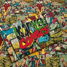 If I have a boy, I want a #comicbook themed room :)