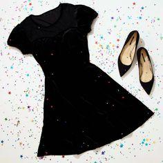 Dressed to thrill // Black Velvet Swiss Dot Yoke Dress Beautiful Prom Dresses, Fancy Party, Dressed To Kill, Fashion Outfits, Fashion Ideas, Black Velvet, Cute Outfits, Swiss Dot, Body Image