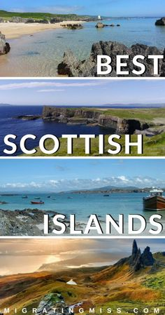 All You Need To Know About the Best Scottish Islands - Planning a trip to Scotland? You definitely need to include some islands on your Scotland itinerary! Here's the lowdown on the Scottish islands, plus tips on what to see and how to get there. #scotland #scotlandislands #scottishislands #isleofskye #skye
