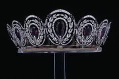 Amethyst Diadem by Cartier