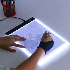Montessori 3 Level Dimmable Led Drawing Copy Board for Kids