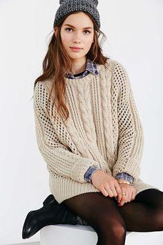 Gat Rimon Maiti Cable-Knit Sweater