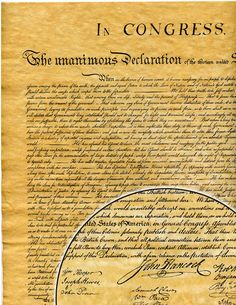 declaration of independence natural rights quote