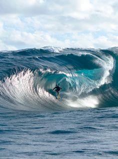 Unforgiving.Mick Corbett in Australia. Photo: Jamie Scott #BigWaveAwards