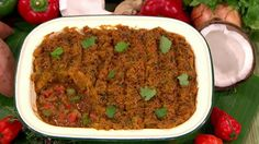 Caribbean cottage pie