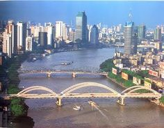 Guangzhou, formerly known as Canton, is the capital of Guangdong province and is the third largest city in China with 13 million people.
