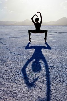 shadow yoga photography - Google Search