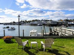 View from the Boothbay Harbor Inn in Maine. http://www.boothbayharborinn.com