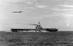 USS Lake Champlain (CV-39) was an Essex-class aircraft carrier that saw combat service during the Korean War and later acted as a recovery ship for NASA.