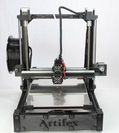 3DMakerWorld Artifex 3D Printer - Black, Fully Assembled - http://3dcreatorlab.com/product/3dmakerworld-artifex-3d-printer-black-fully-assembled/