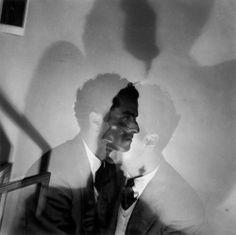 Fernando Lemos -  Alexandre O'Neill / A mesma Ideia, 1949-52, Fotografia a preto e branco, 60 cm x 50 cm